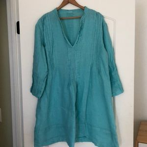 CP Shades linen tunic. Excellent condition.